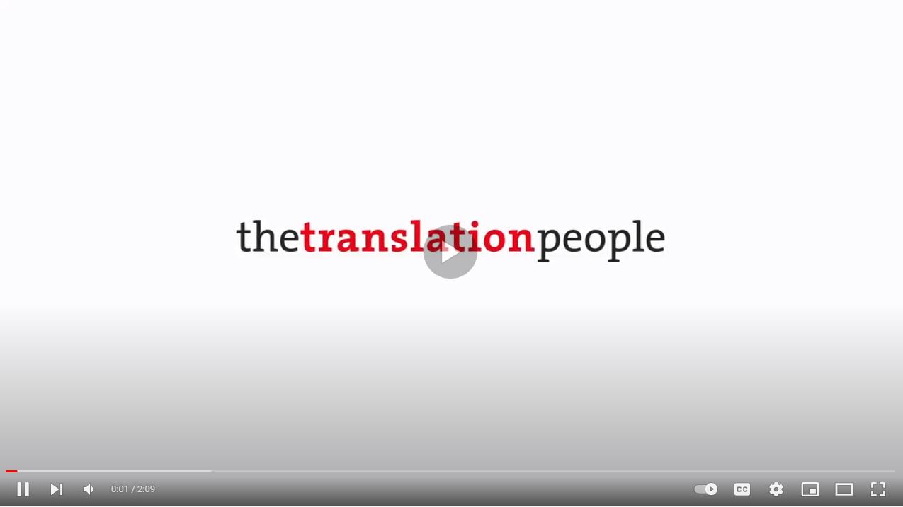 The Translation People - YouTube