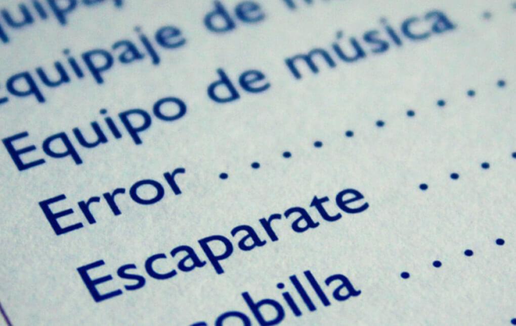 Infamous Translations